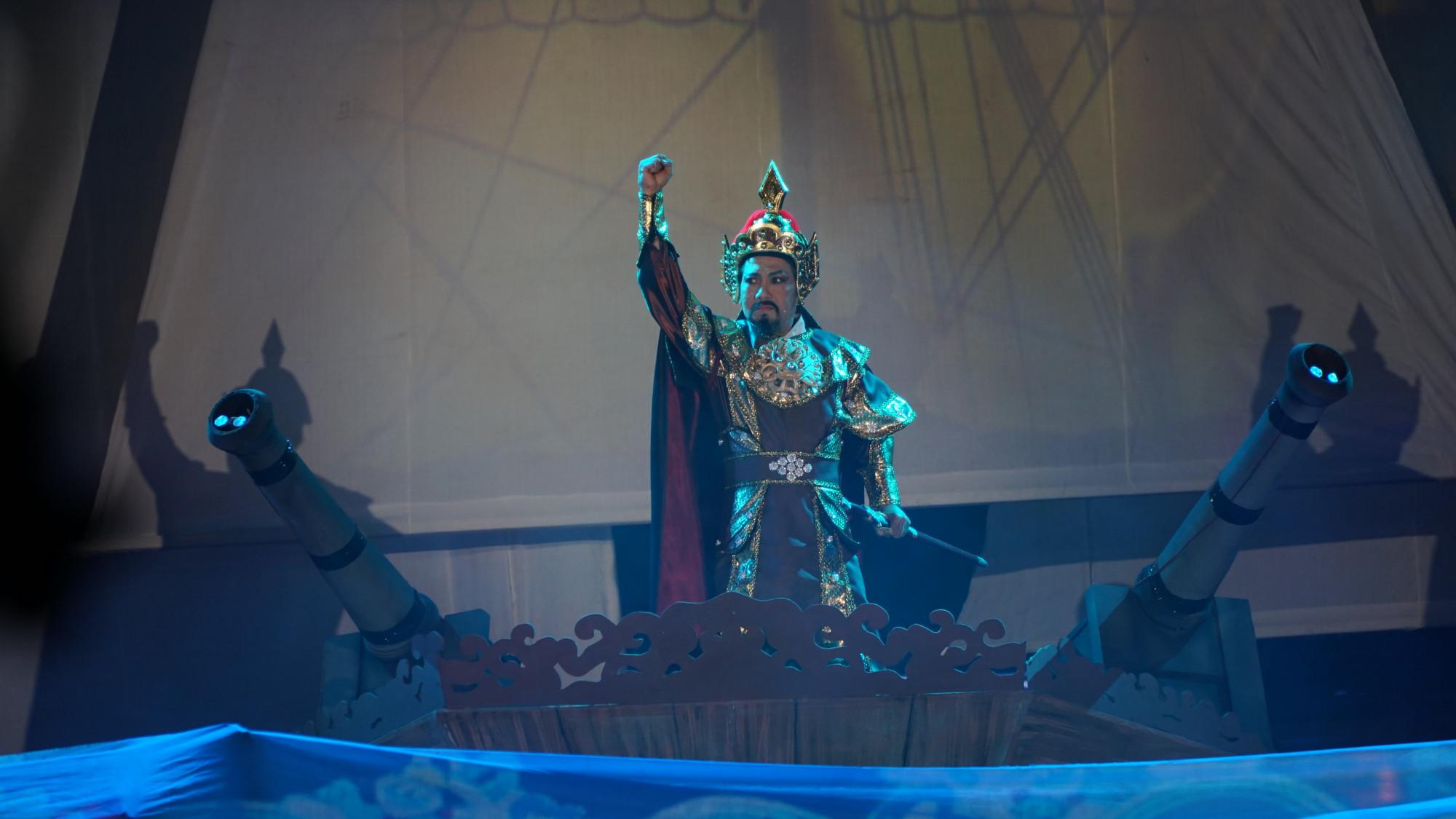 Nhưng cuối cùng đã bị vua Quang Trung chỉ huy đội quân đánh tan quân xâm lược