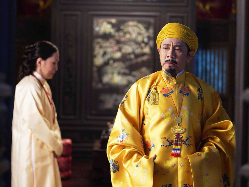 Hình ảnh trang phục trong phim Phượng Khấu do Ỷ Vân Hiên thực hiện