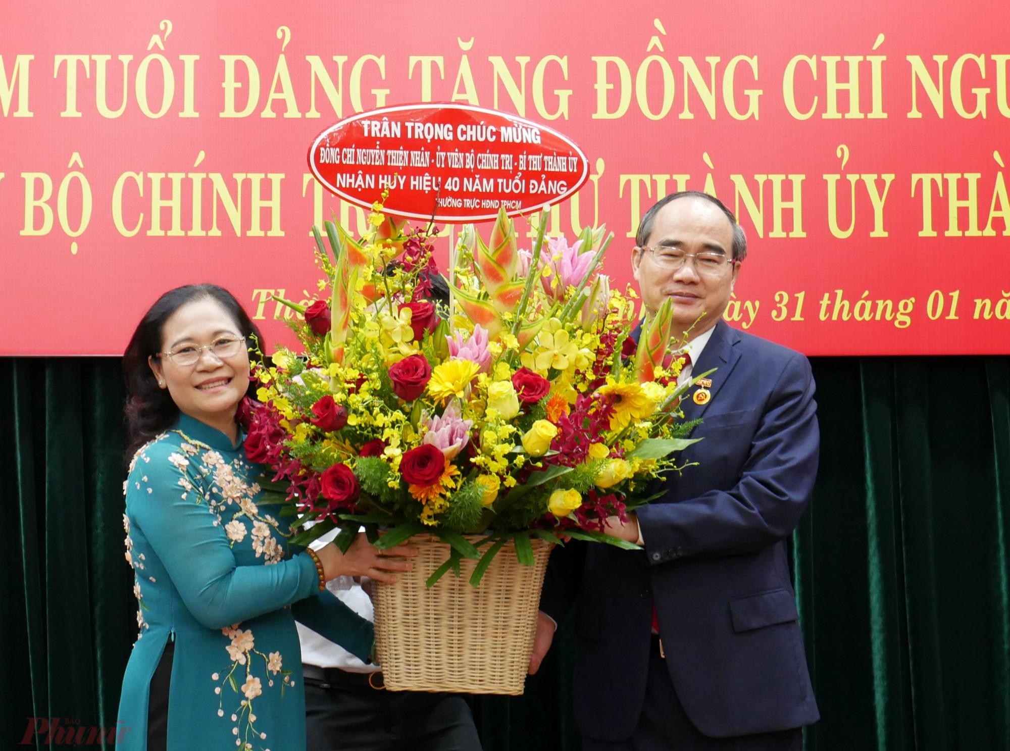 , Chủ tịch HĐND TPHCM Nguyễn Thị Lệ