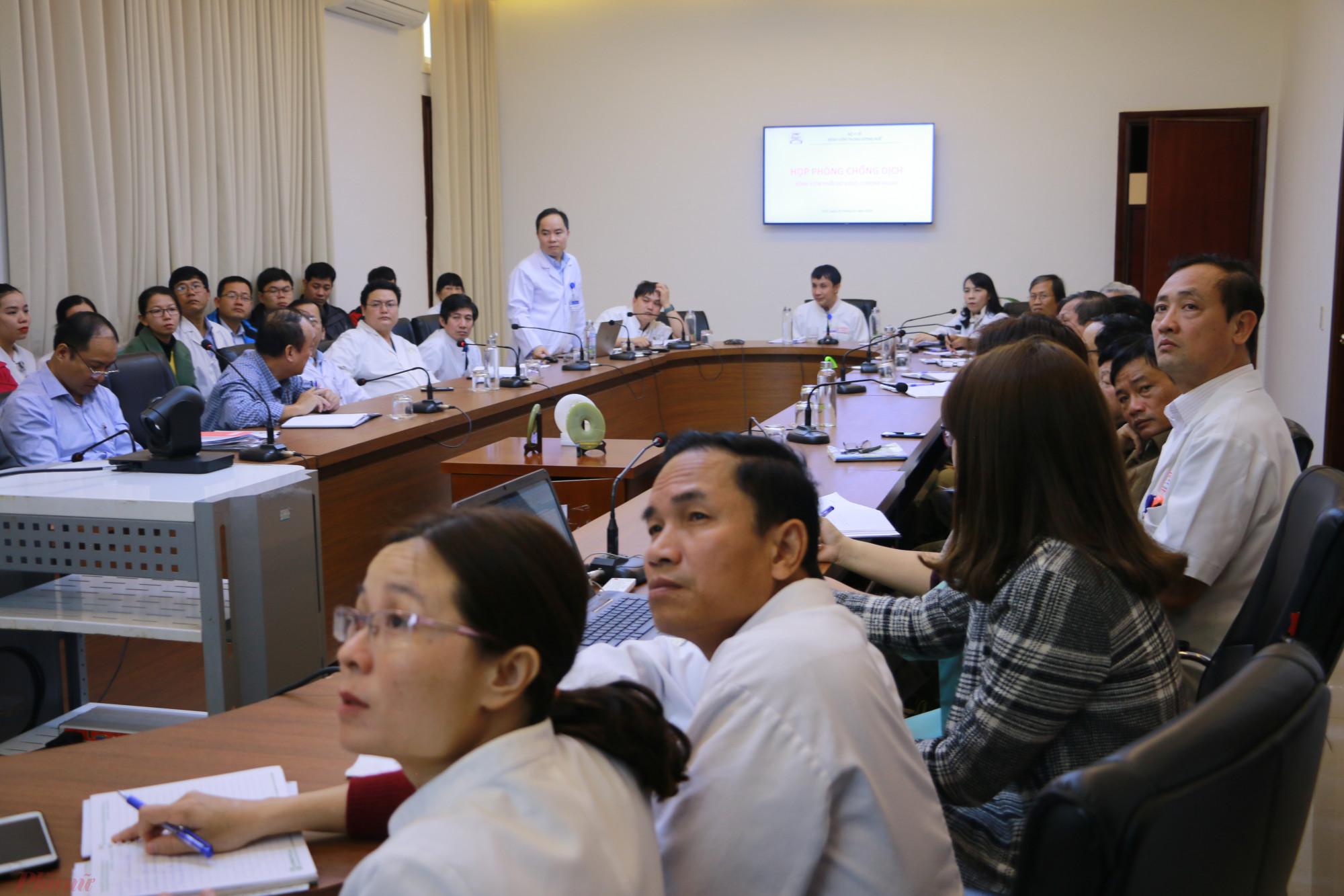 Triển khai công tác phòng chống dịch tại Bệnh viện Trung ương Huế