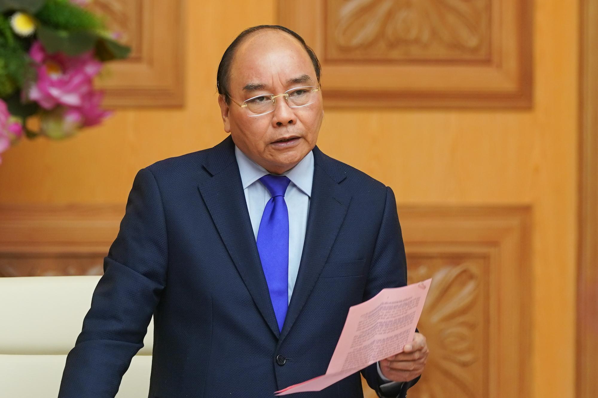 Thủ tướng Chính phủ Nguyễn Xuân Phúc chỉ thị tiếp tục tăng cường các biện pháp phòng, chống dịch Corona