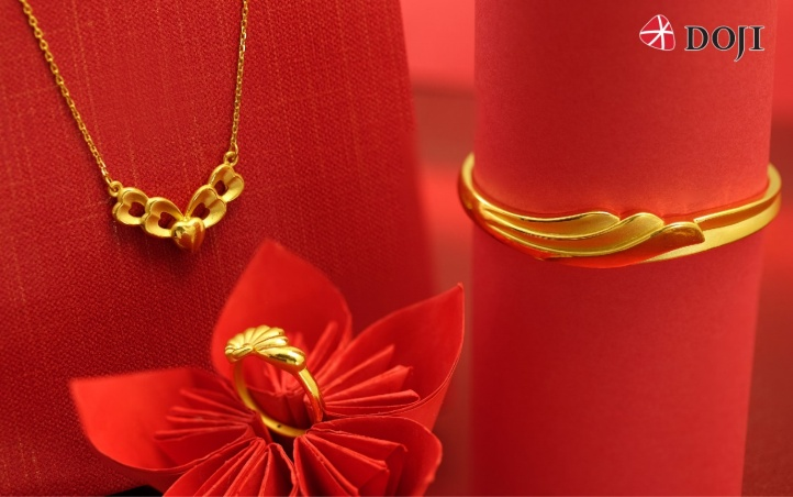 Hay siêu phẩm trang sức vàng 24K công nghệ 3D chỉ có tại DOJI với mẫu mã phong phú, hiện đại sẽ là lựa chọn trở thành món quà đặc biệt ý nghĩa dành cho phái đẹp trong dịp vía Thần Tài sắp tới