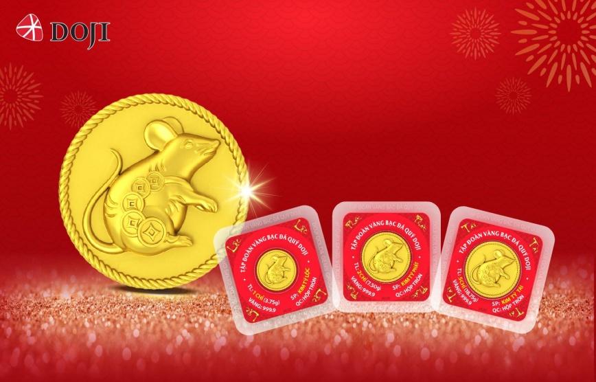 Sản phẩm đồng vàng Kim Tý Phát Lộc với hình ảnh chú chuột tả thực thể hiện sự thông minh, nhanh nhẹn và tích trữ của cải