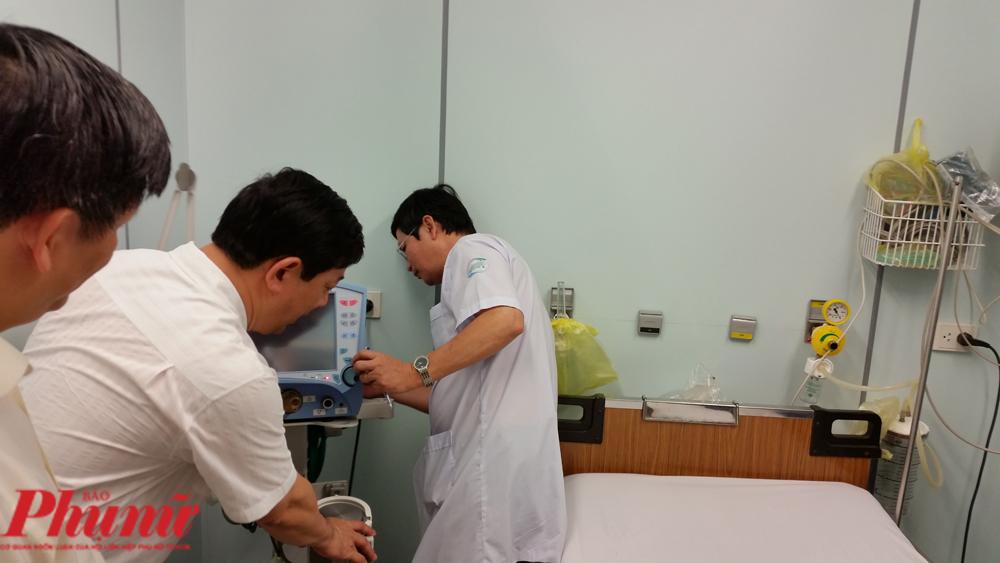 Bên trong phòng cách ly áp lực âm dành cho bệnh nhân nhiễm virus corona tại BV Bệnh Nhiệt đới  TP.HCM