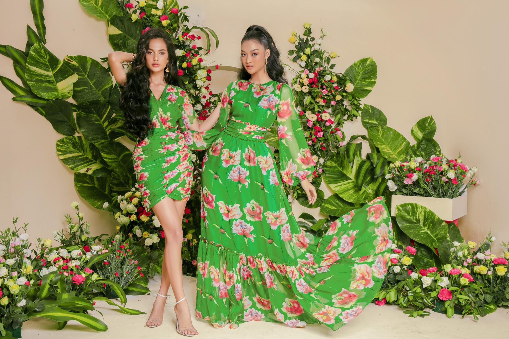 Nếu chuộng vẻ ngoài ngọt ngào hơn, bạn có thể chọn dáng váy ôm với những đường gấp nếp không đối xứng hoặc thiết kế