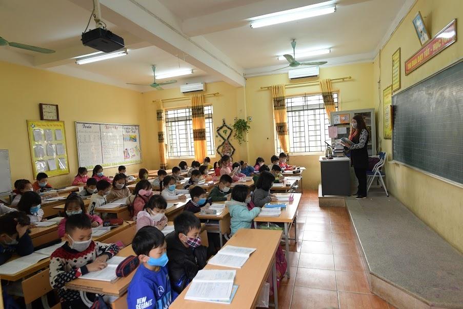 UBND thành phố Hà Nội quyết định cho học sinh các cấp nghỉ học từ ngày 3/2 đến hết ngày 9/2 để phòng chống dịch corona. Ảnh minh họa
