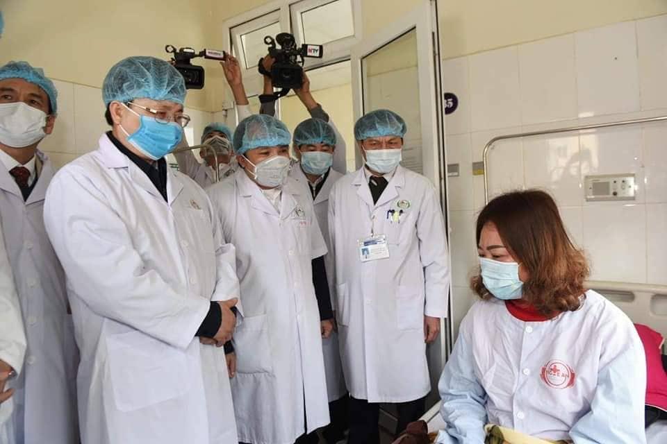 Nữ bệnh nhân phải cách ly đầu tiên ở Nghệ An được xác định âm tính với virus corona