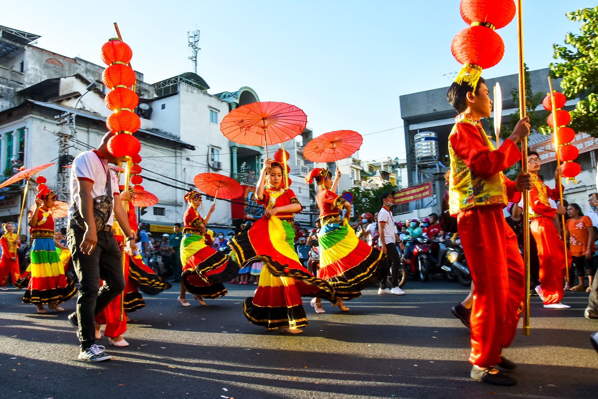 Tết Nguyên tiêu của người Hoa ở quận 5 vừa trở thành danh sách văn hóa phi vật thể quốc gia - Ảnh: N.L.Đ