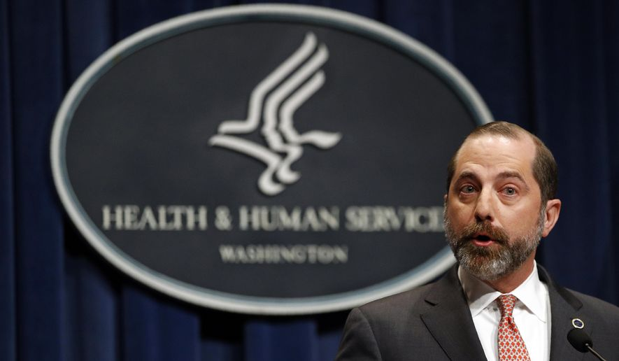 Bộ trưởng Bộ Y tế và Dịch vụ Nhân sinh Alex Azar cho biết ông rất vui mừng khi Trung Quốc đồng ý cho phép nhóm chuyên gia CDC đến hỗ trợ
