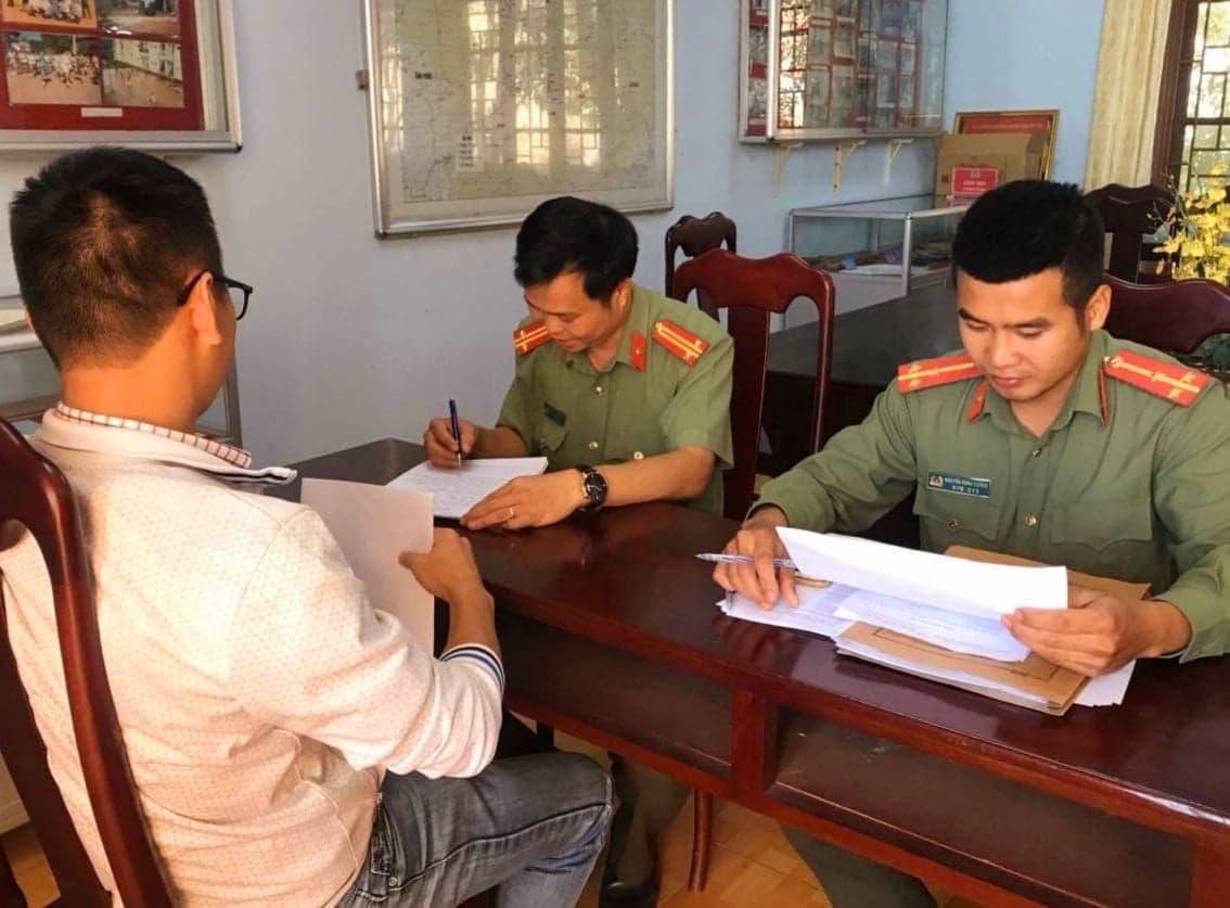 Một trong hai người đăng tải thông tin sai sự thật về virus corona làm việc tại Công an tỉnh Đắk Nông