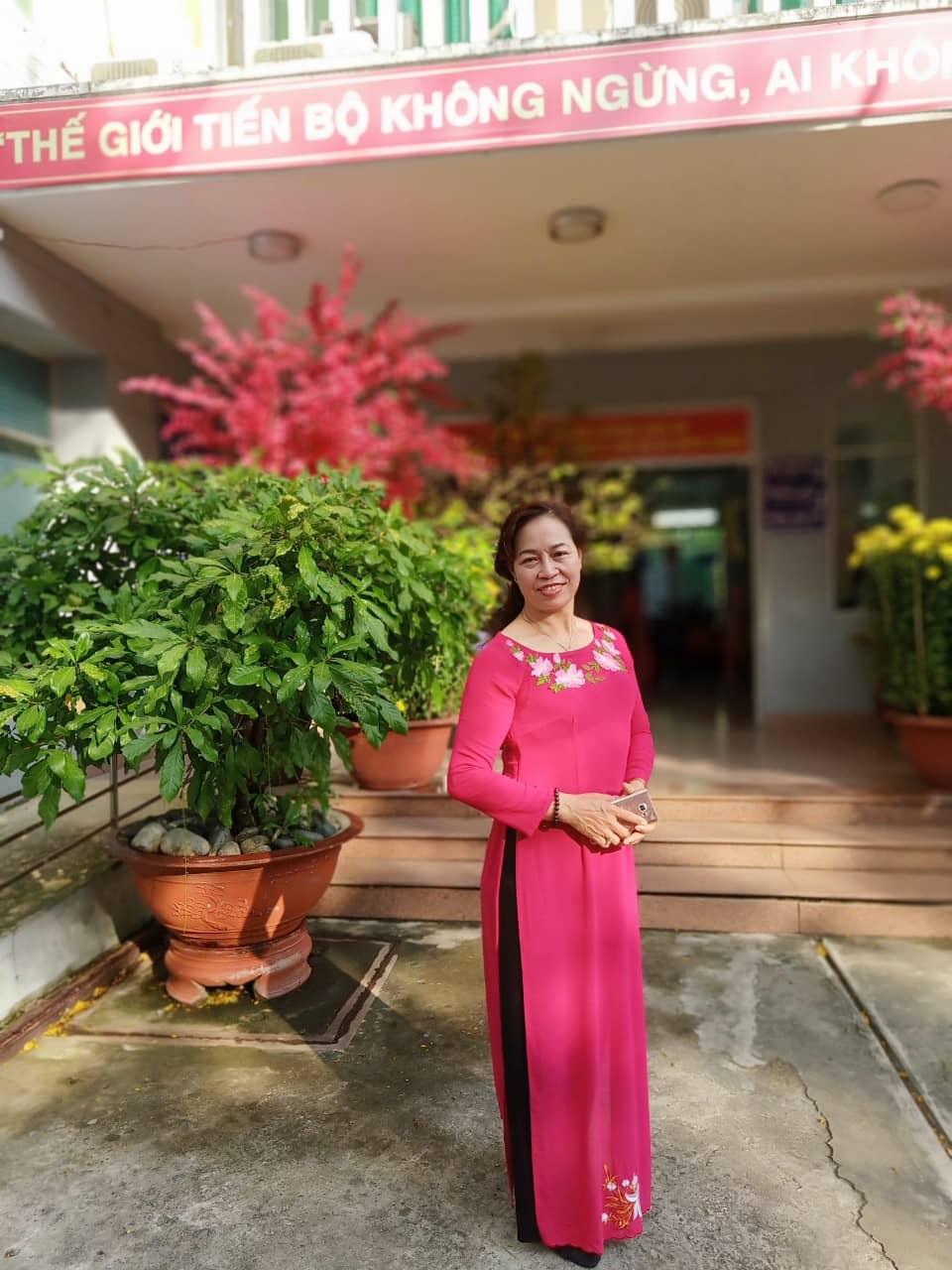 Bà Nguyễn Thị Thiết, nữ chủ nhà trọ phường Bình An, Quận 2.