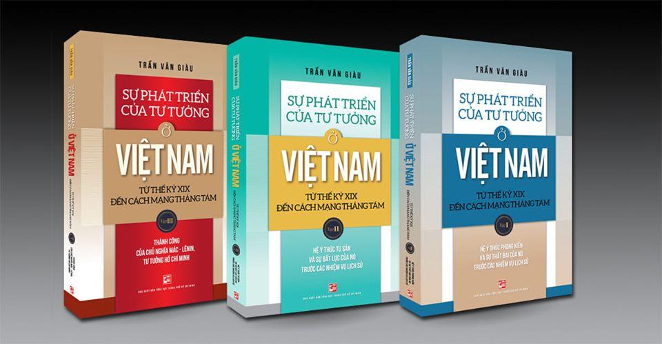 Bộ sách tiêu biểu của giáo sư Trần Văn Giàu