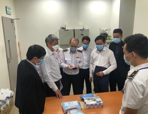 Đoàn công tác Bộ Y tế kiểm tra công tác phòng dịch