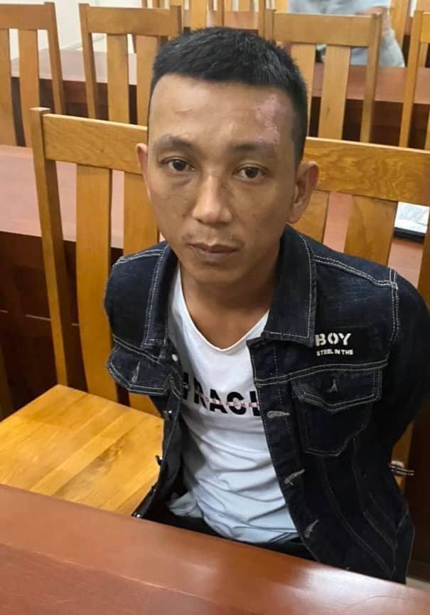 Đối tượng bị bắt khi đang lẩn trốn tại Lâm Đồng.