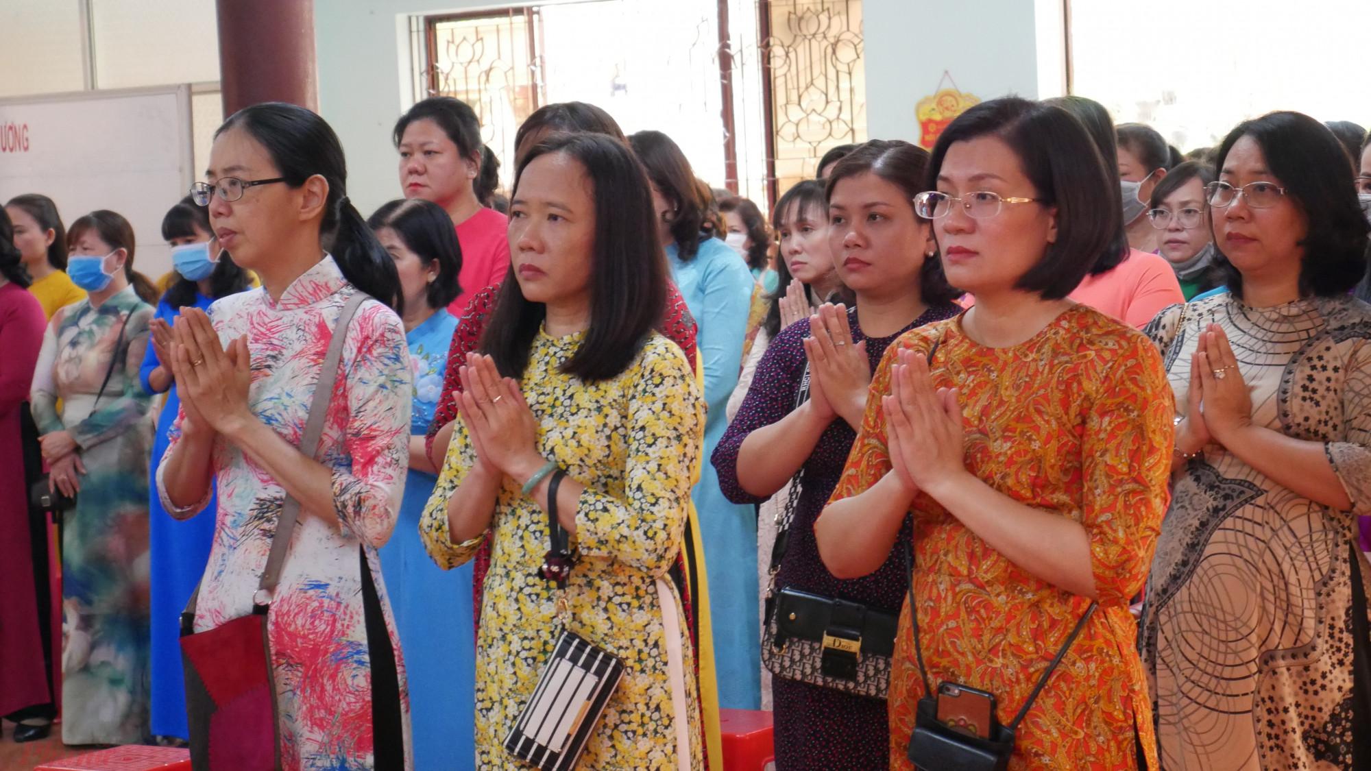 Cán bộ hội viên phụ nữ tưởng nhớ đến các cán bộ, chiến sĩ Ban Phụ vận Sài Gòn – Gia Định đã hy sinh