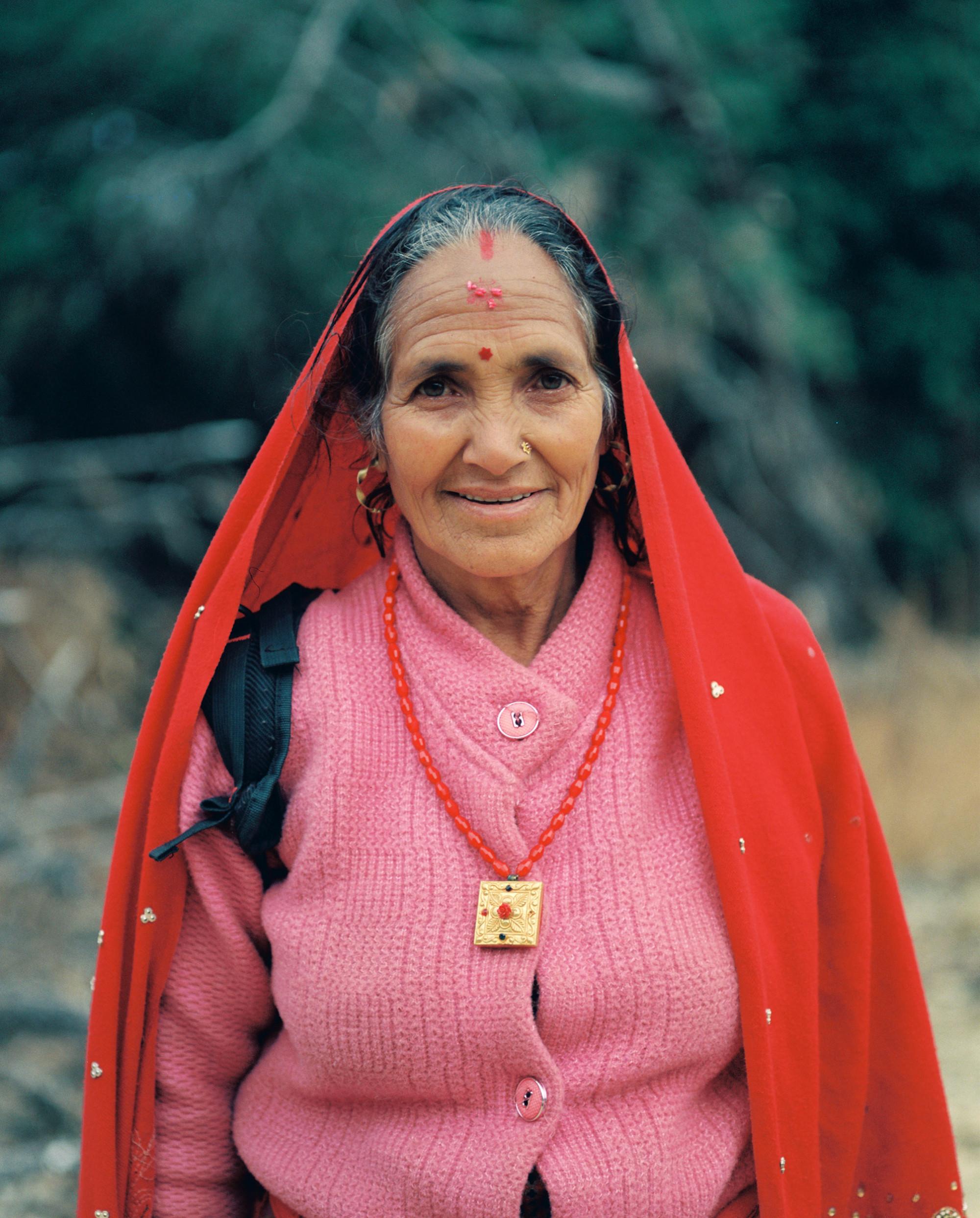 Người phụ nữ sống tại một ngôi làng ở Nepal