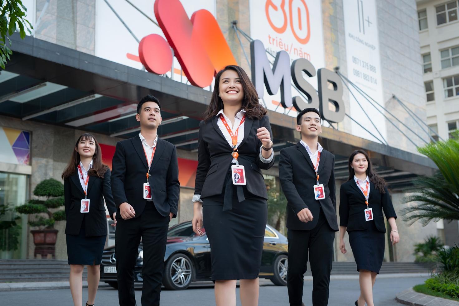 Ngân hàng Hàng Hải Việt Nam thay đổi thương hiệu mới thành MSB từ tháng 1 năm 2019