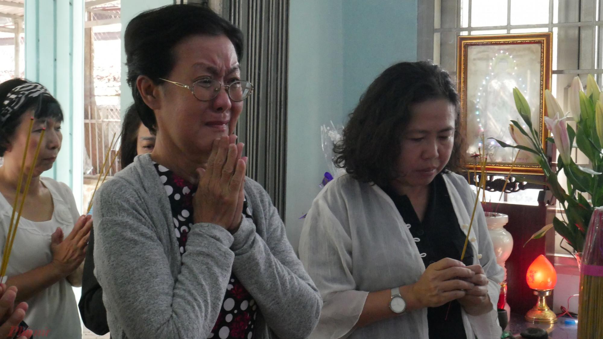 Chị Bạch Mai xúc động nhớ lại những tình cảm của dì Mười dành cho mình