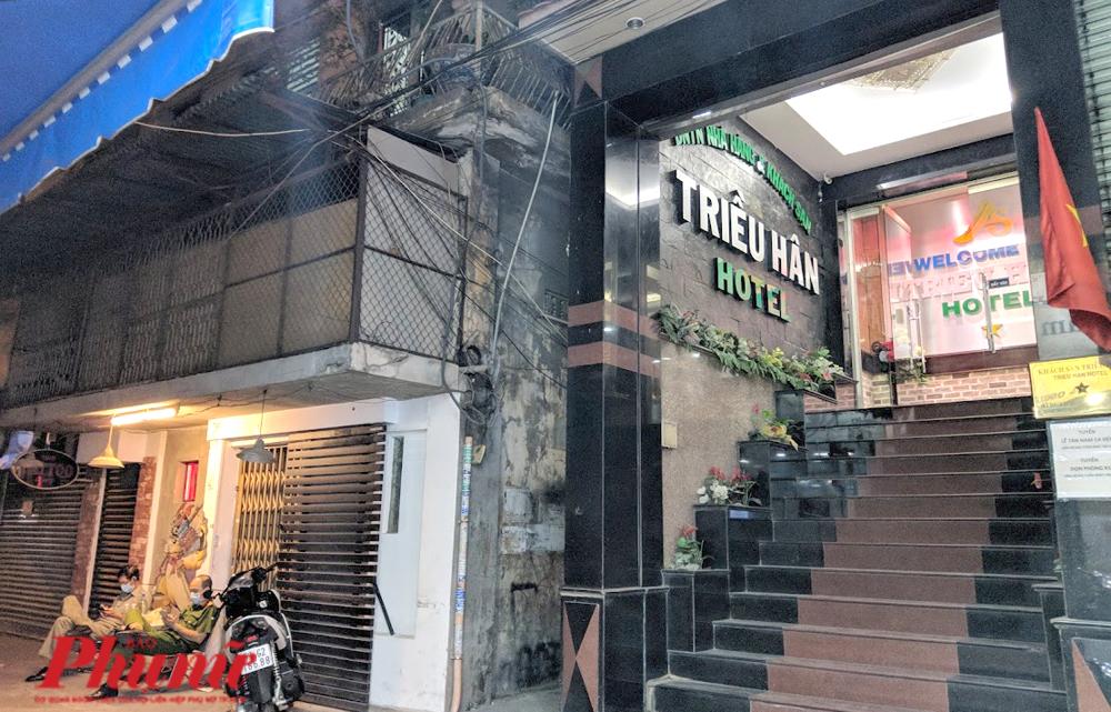 Khách sạn Triều Hân - nơi 18 người đang được cách ly