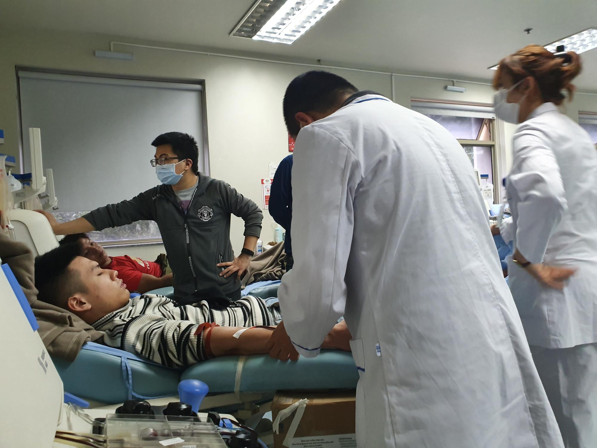 Người hiến máu được đảm bảo về sức khỏe trong thời điểm dịch bệnh đang bùng phát.