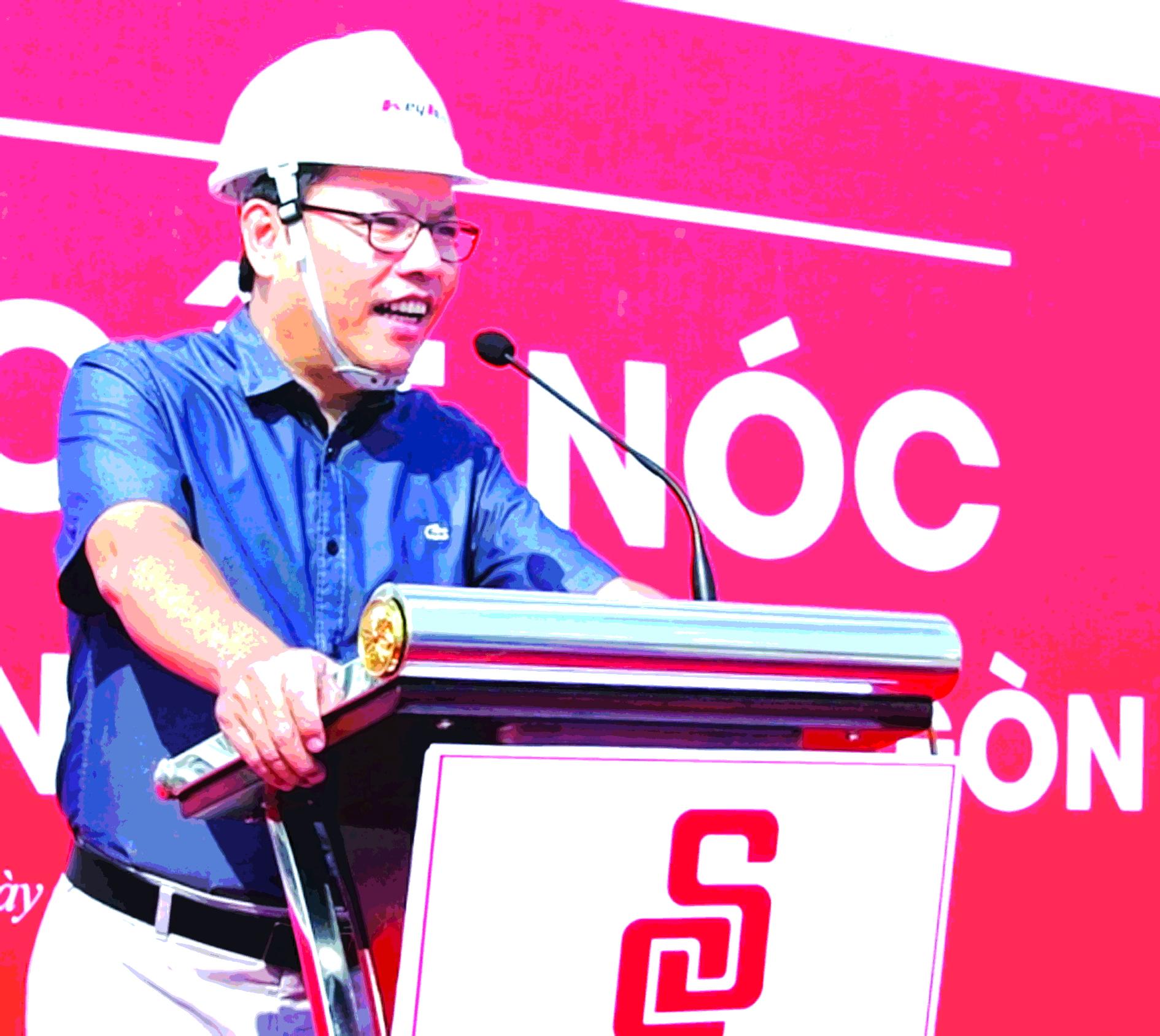 Ông Diệp Dũng, Chủ tịch Hội đồng quản trị Saigon Co.op