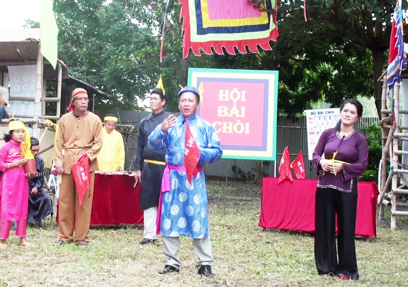 Hô bài chòi ngày tết ở tỉnh Quảng Ngãi