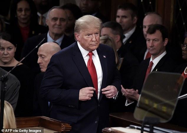 """Thượng viện Mỹ """"tha bổng"""" Tổng thống Trump sau những tháng luận tội kéo dài - Ảnh: AFP"""