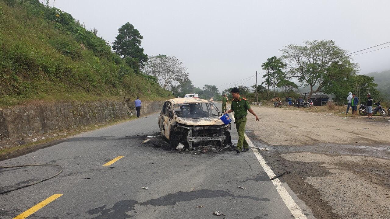 Hai nạn nhân trên xe là hai vợ chồng