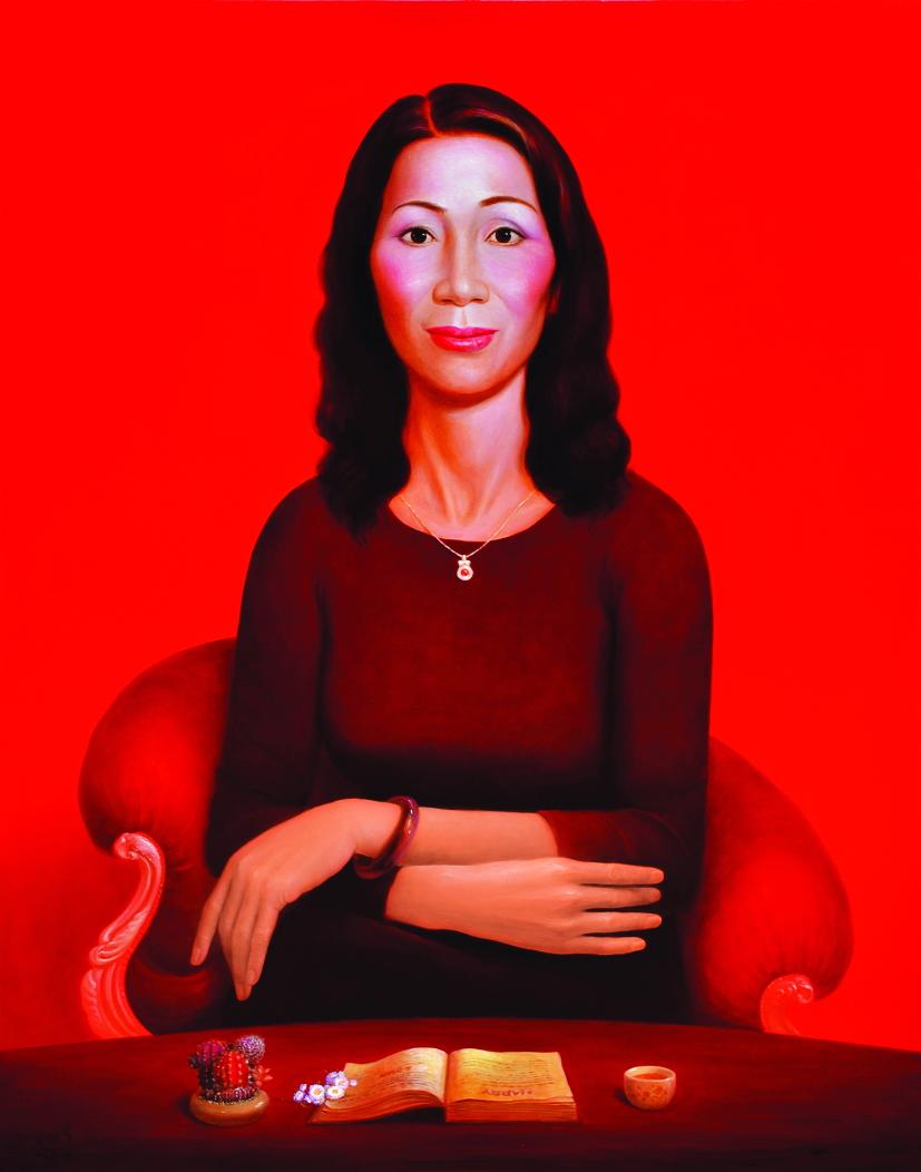 Sử dụng cách biểu hiện phi giới tính hoặc mang chính mình ra làm chân dung tự họa đều nằm trong lộ trình sáng tác của họa sĩ Nguyễn Khắc Chinh