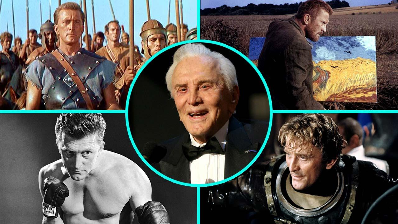 Huyền thoại Kirk Douglas và một số vai diễn trong sự nghiệp
