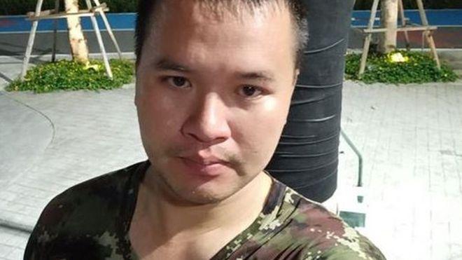 Sĩ quan Maj Jakrapanth Thomma dường như đã chuẩn bị trước cho cuộc tấn công nổi loạn.