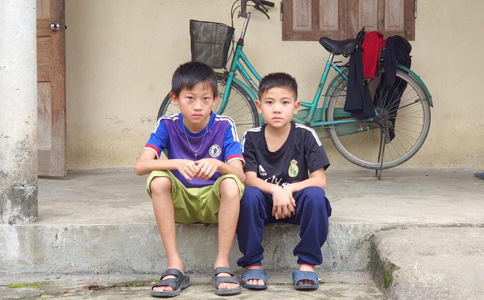 Hai anh em Huy và Hà