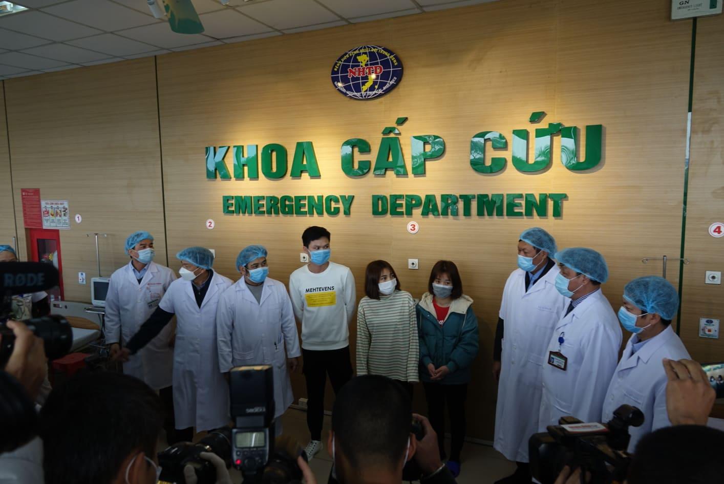 Việc 3 bệnh nhân khỏi bệnh là tín hiệu đáng mừng trong việc phòng, chống dịch bệnh của Việt Nam.