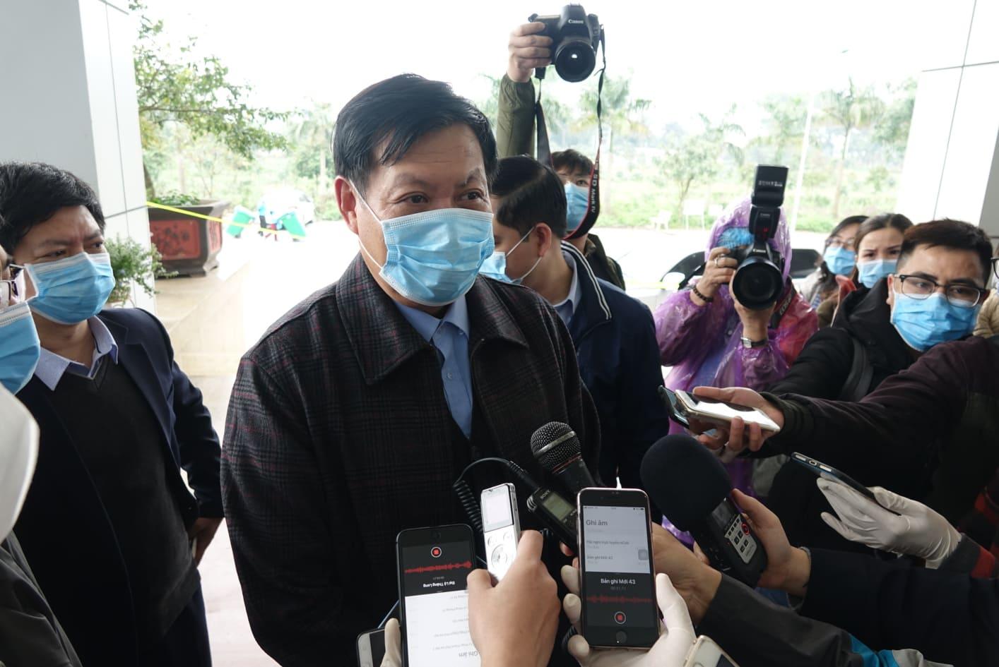 Thú trưởng Bộ Y tế Đỗ Xuân Tuyên.