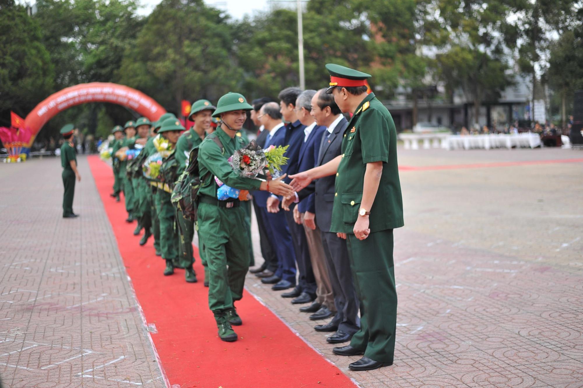 Lễ giao nhận quân năm 2020 tại Đắk Lắk
