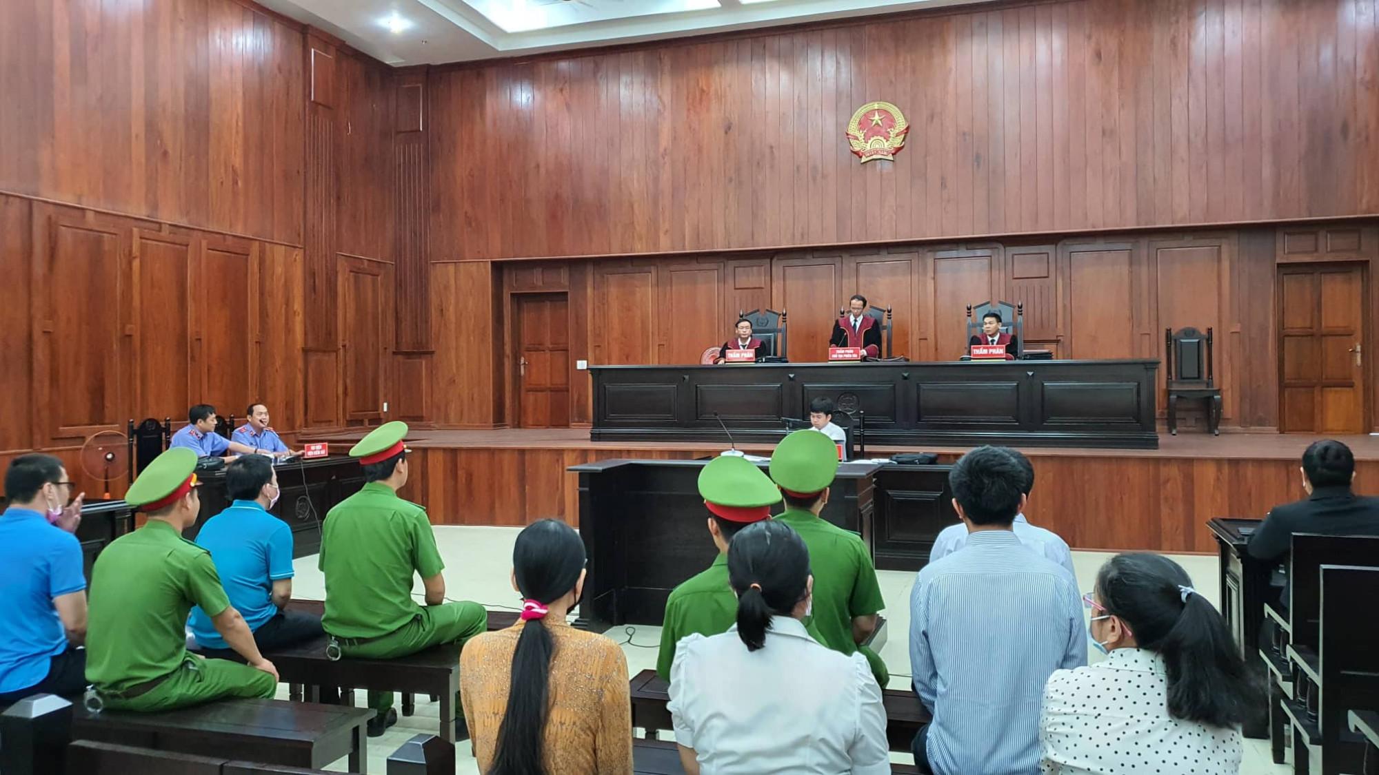 Nhiều người vắng mặt tại phiên xét xử phúc thẩm tại Tòa án nhân dân cấp cao TP.HCM sáng 10/2/2020