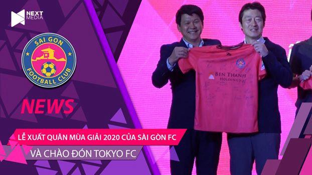 Lễ xuất quân mùa giải 2020 của Sài Gòn FC với sự góp mặt của đại diện Tokyo Koji Ishii FC Nhật Bản