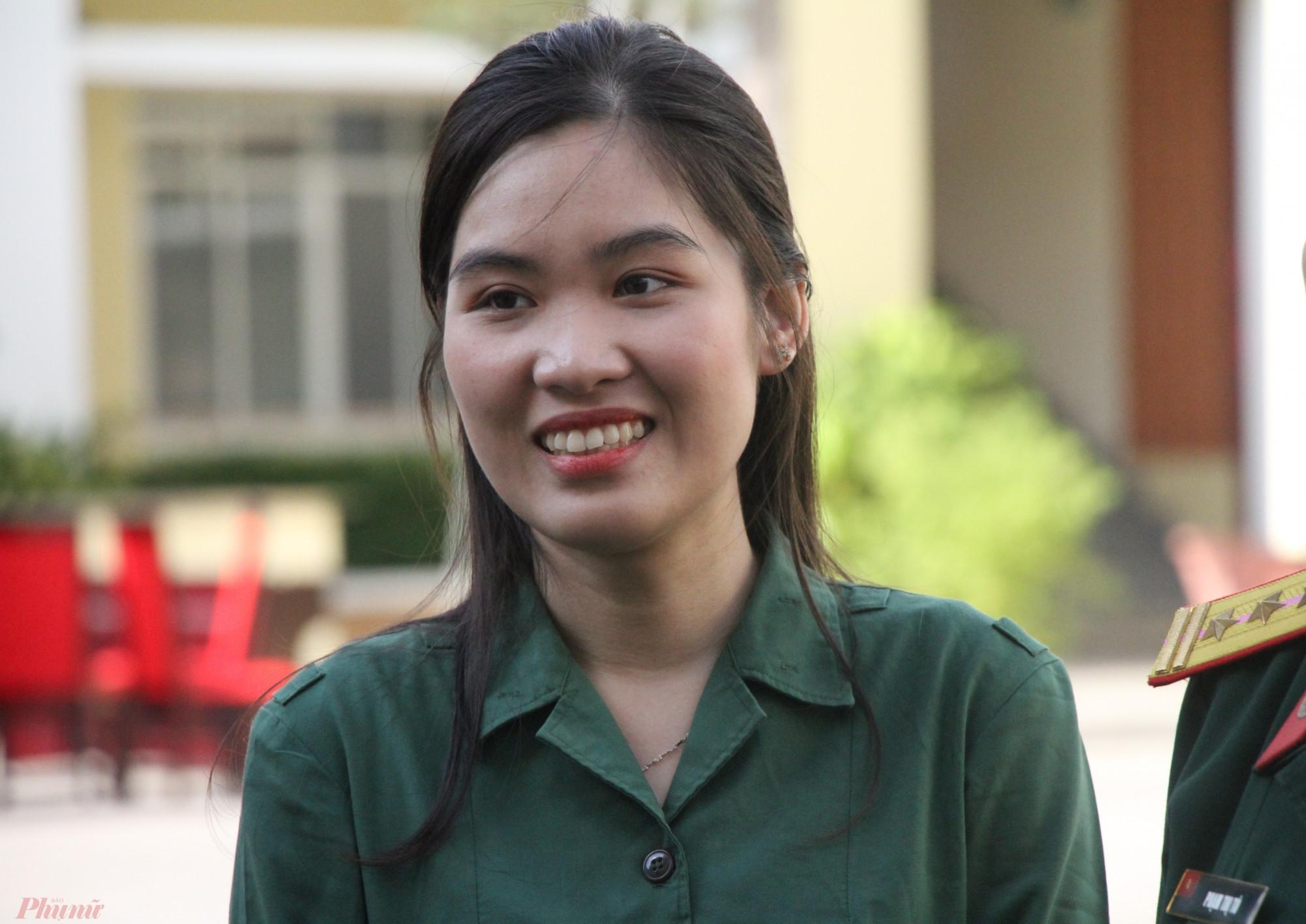 Nữ tân binh Nguyễn Thị Lan Hương