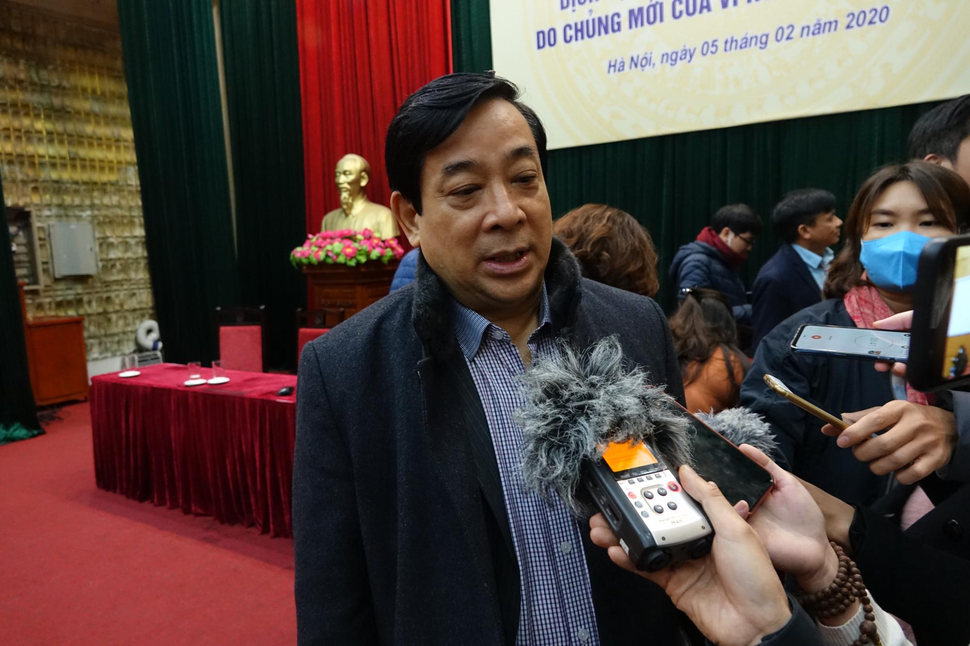 PGS.TS Lương Ngọc Khuê - Cục trưởng Cục Quản lý Khám chữa bệnh.