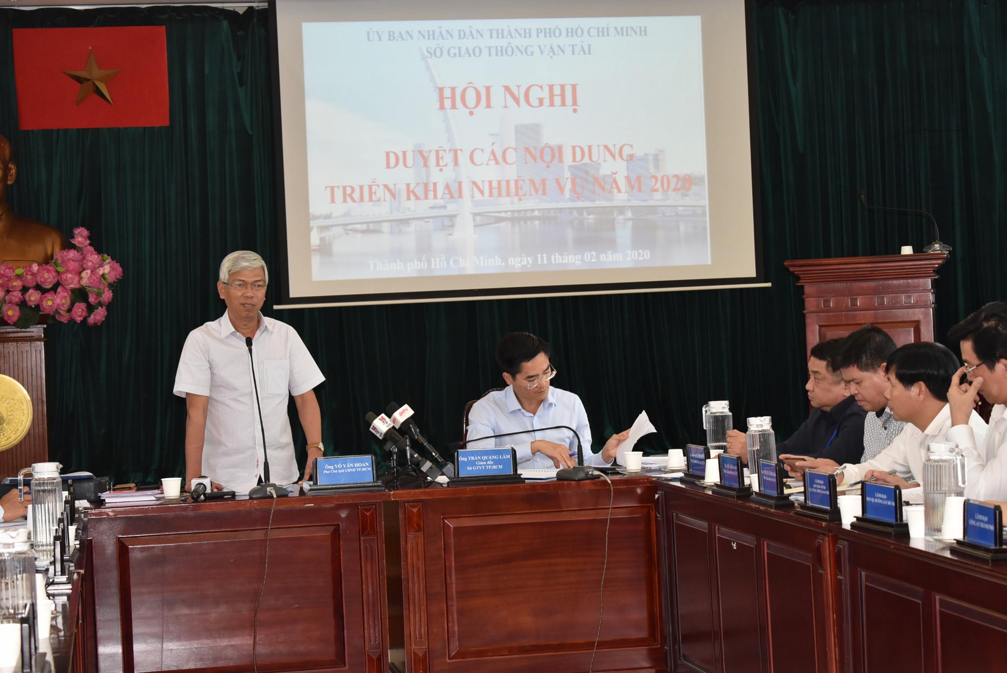 Ông Võ Văn Hoan khẳng định, TPHCM cần phát triển giao thông đêm song song với kinh tế đêm