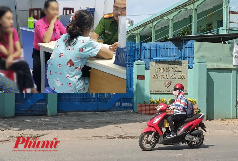 Các bé gái đến cơ quan công an tố cáo hành vi xâm hại tình dục của Nguyễn Tiến Dũng