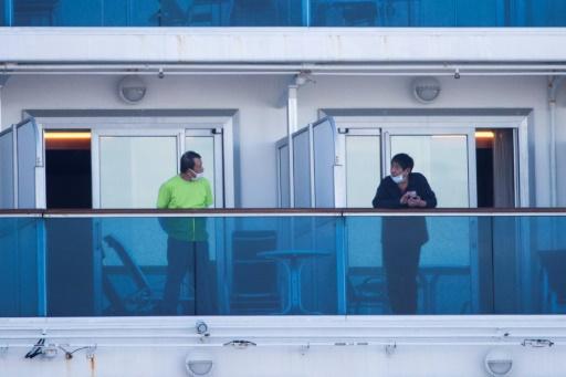 Các hành khách trên tàu Diamond Princess bị cách ly tại buồng riêng, không tiếp xúc trực tiếp với nhau.