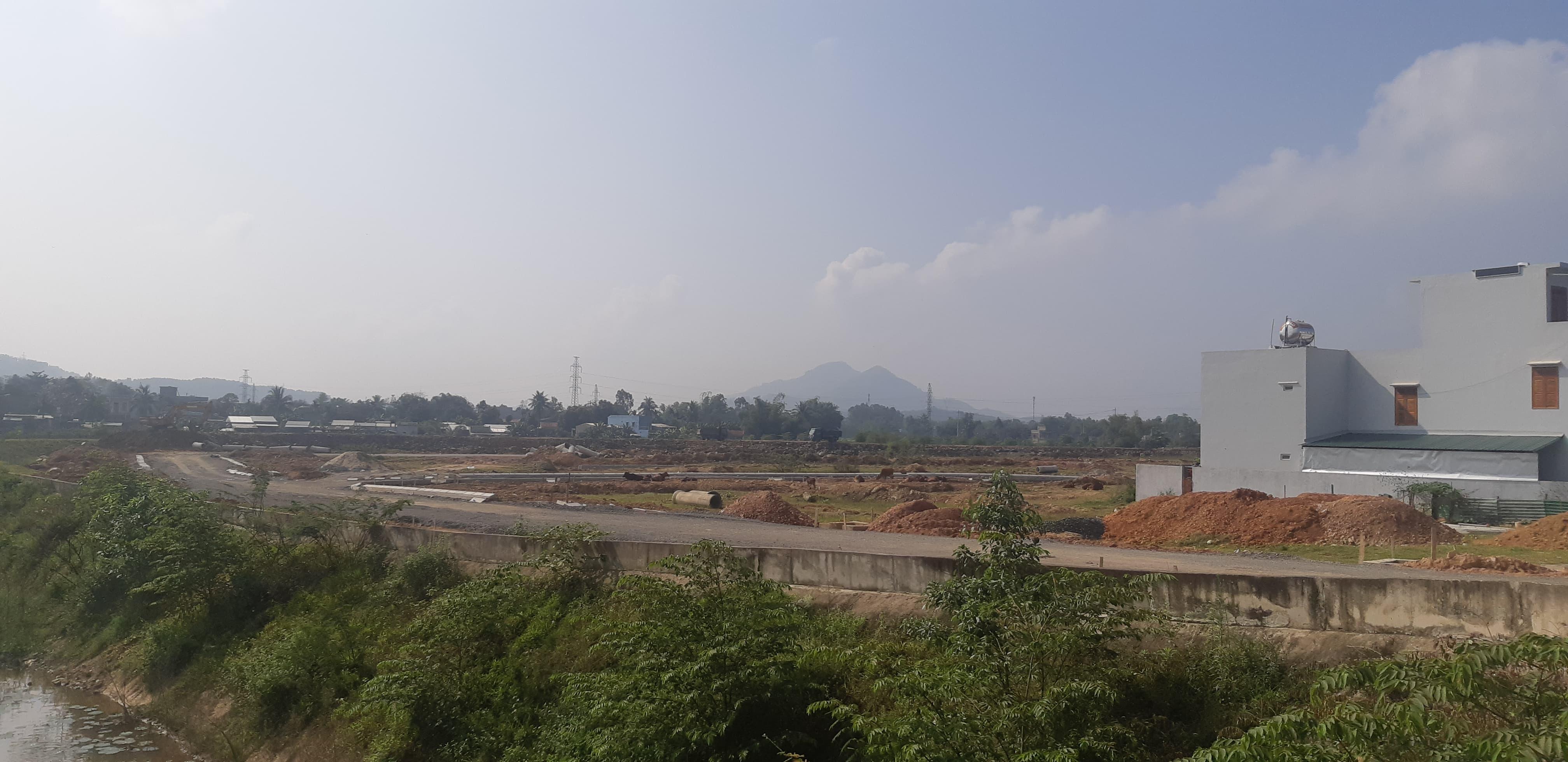 Một góc dự án khu tái định cư Hòa Liên