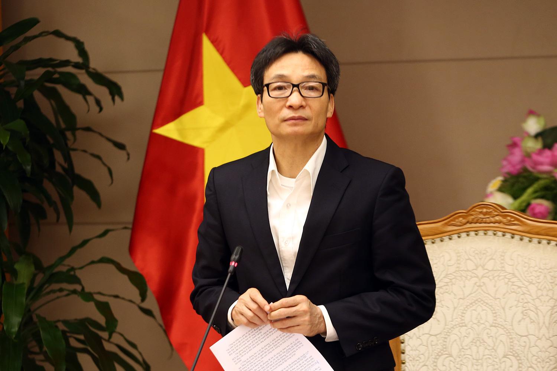 Phó thủ tướng Chính phủ Vũ Đức Đam.