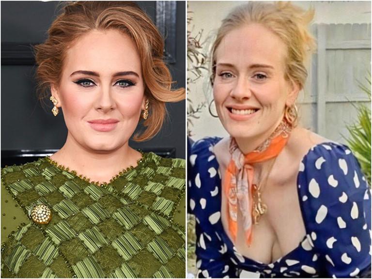 Adele khác lạ sau màn giảm cân thần tốc.