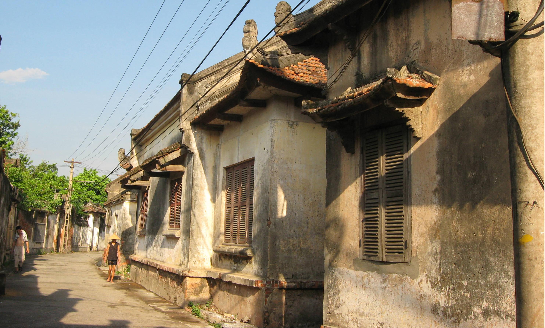 Một góc làng Cựu