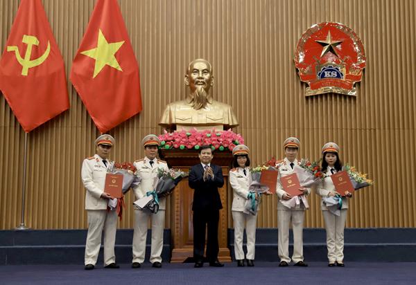 Viện trưởng VKSND tối cao Lê Minh Trí trao quyết định bổ nhiệm, điều động lãnh đạo cấp Vụ