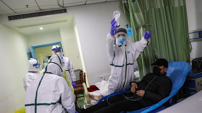 Covid-19 được phát hiện lần đầu tiên hồi tháng 12/2019 tại thành phố Vũ Hán của Trung Quốc - Ảnh: EPA-EFE