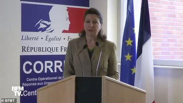 Bộ trưởng Y tế Pháp Agnes Buzyn xác nhận cái chết của một du khách Trung Quốc 80 tuổi.