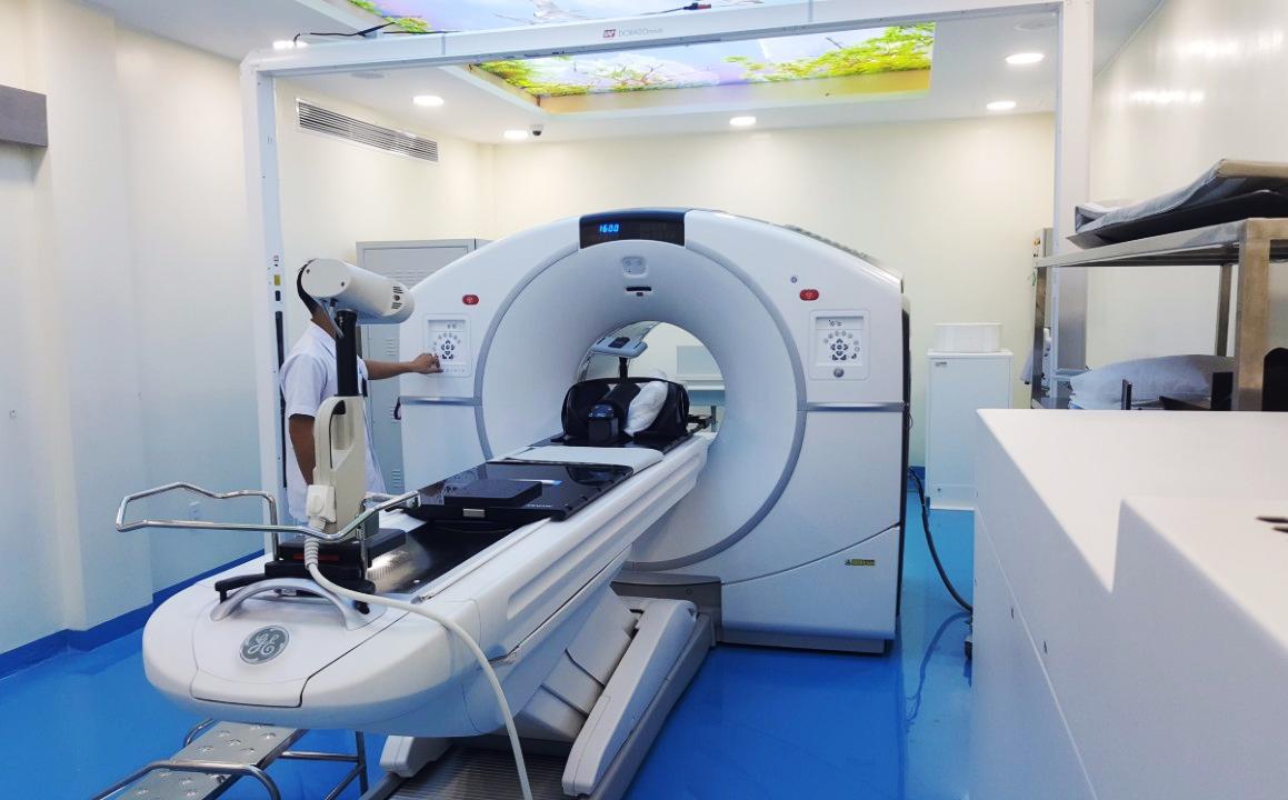Hệ thống máy PET/CT hiện đại nhất Việt Nam tại BV Ung Bướu TP.HCM